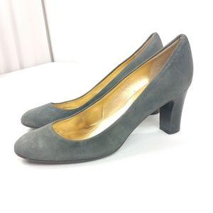 J Crew Suede Leather Pump Heels